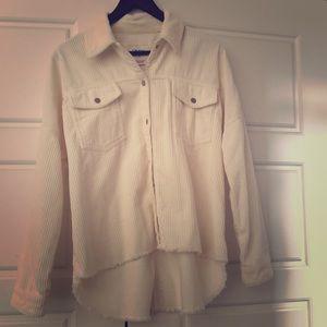 Corduroy jacket - ivory